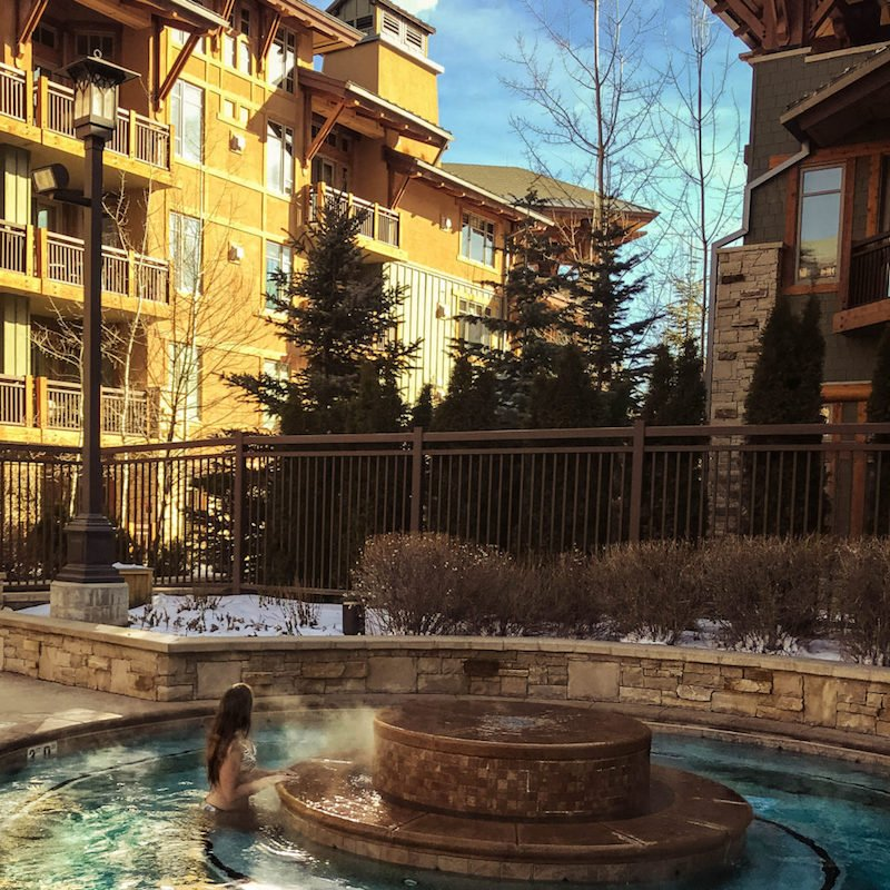 hyatt centric park city hottub