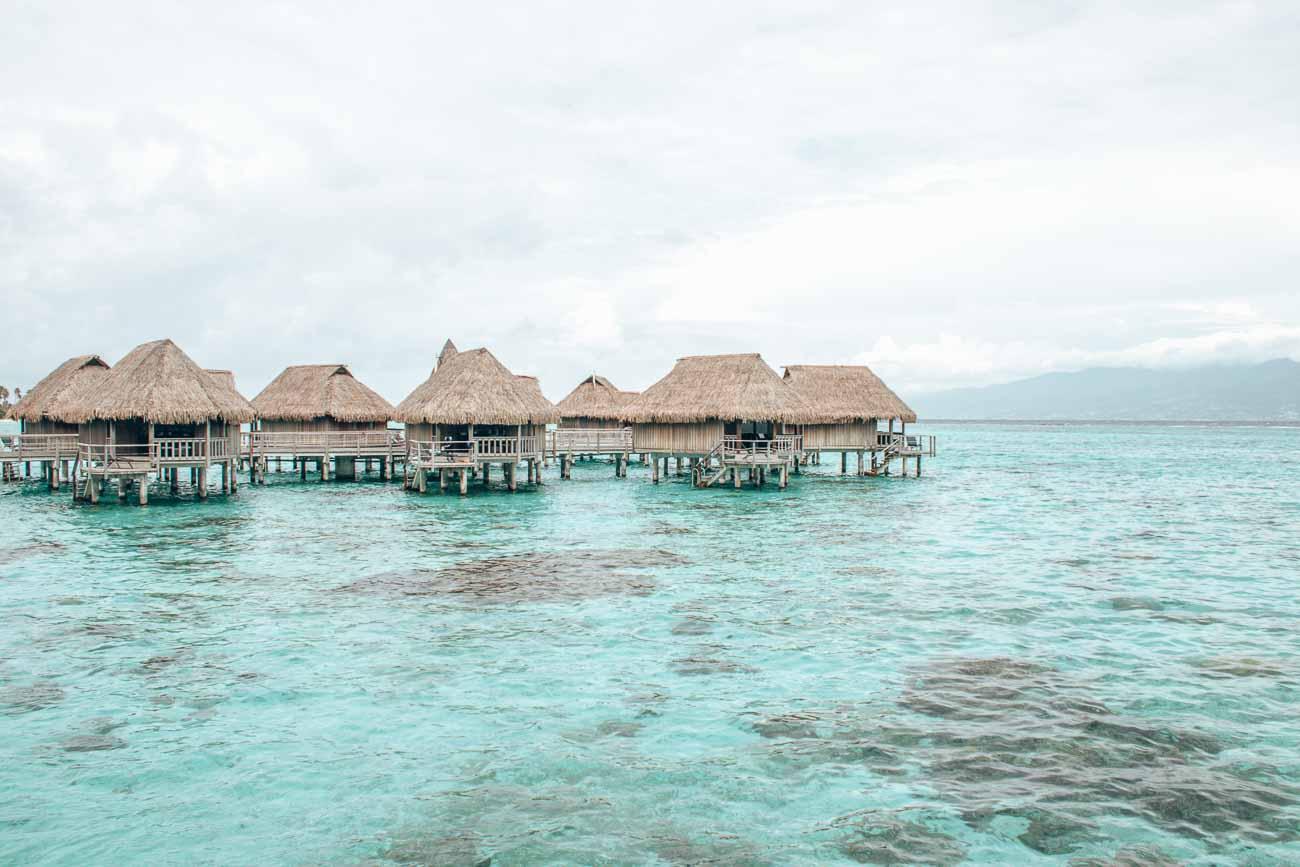 Sofitel Moorea luxury overwater bungalow