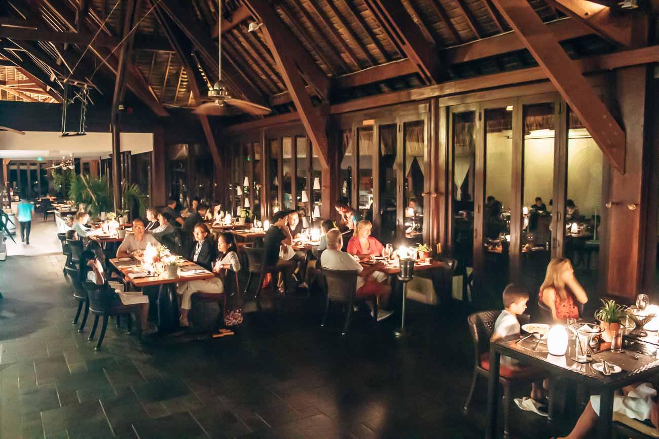 Sofitel Moorea pure restaurant