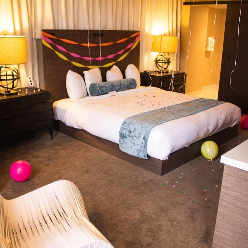 whitney peak reno bedroom