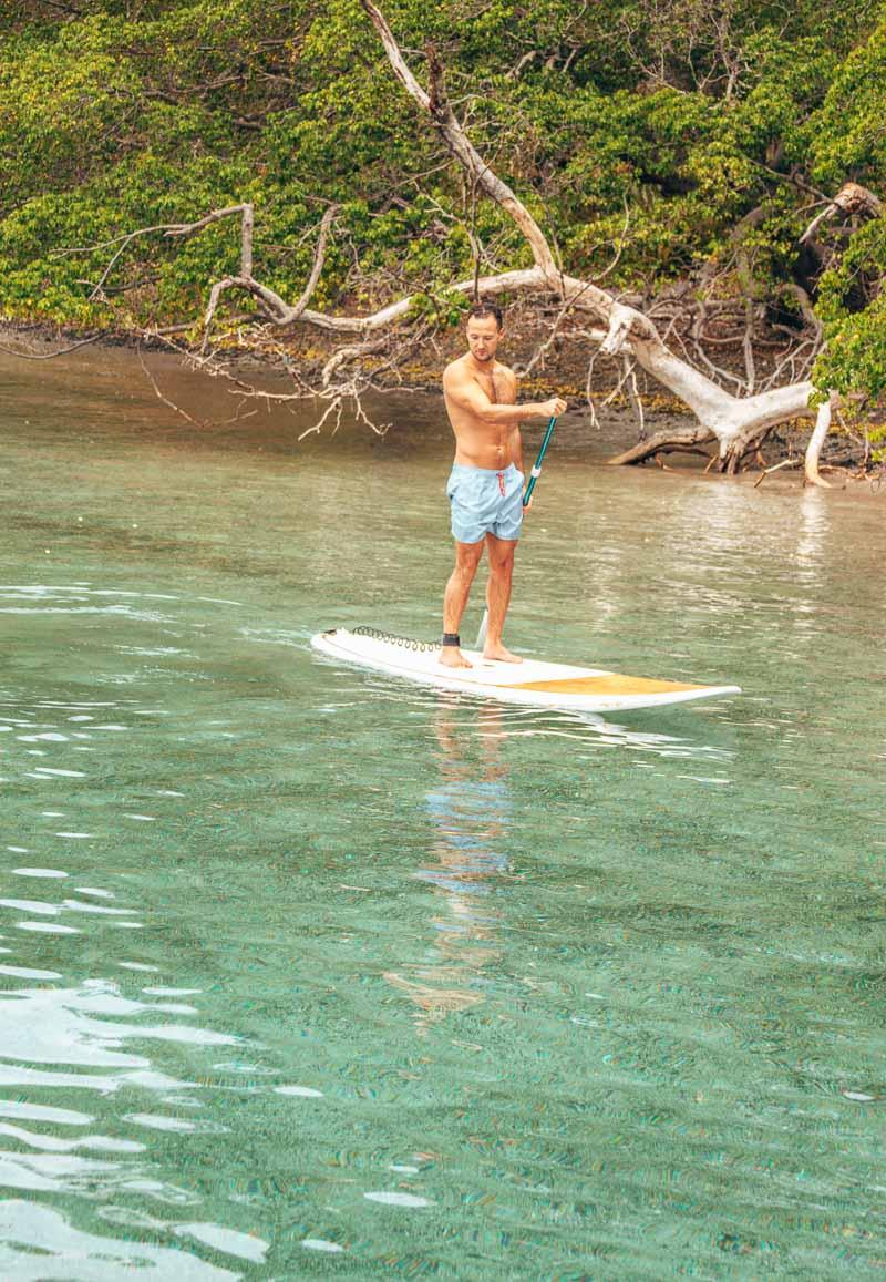 el mangroove costa rica paddle board