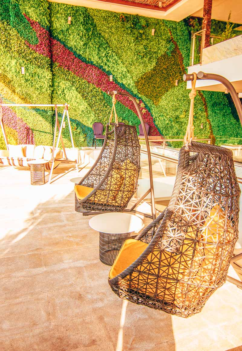 Le Blanc Spa Resort Cabo firepit bar