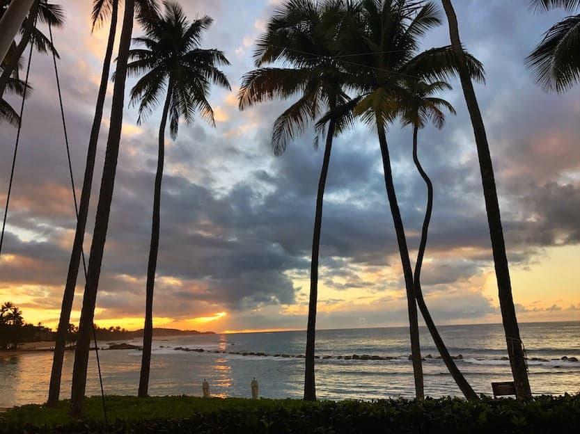 sunset ritz dorado beach