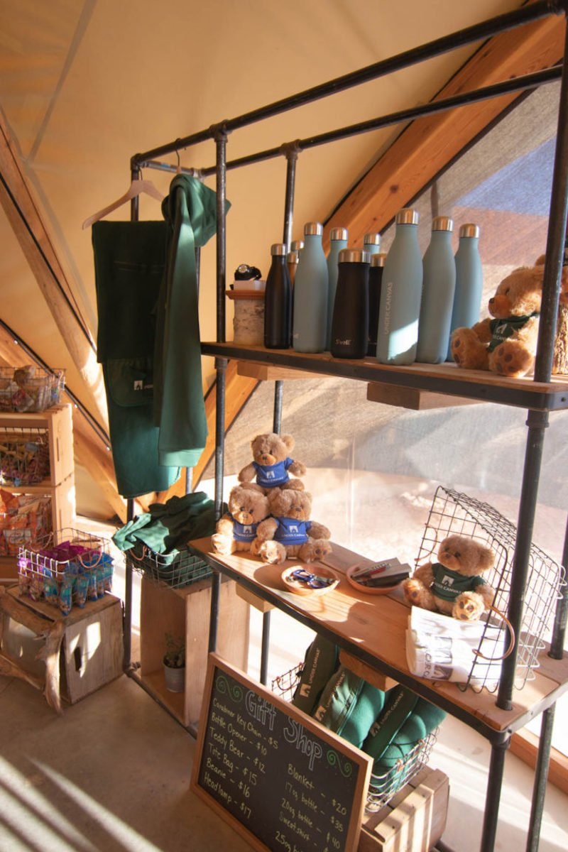 gift shop under canvas zion