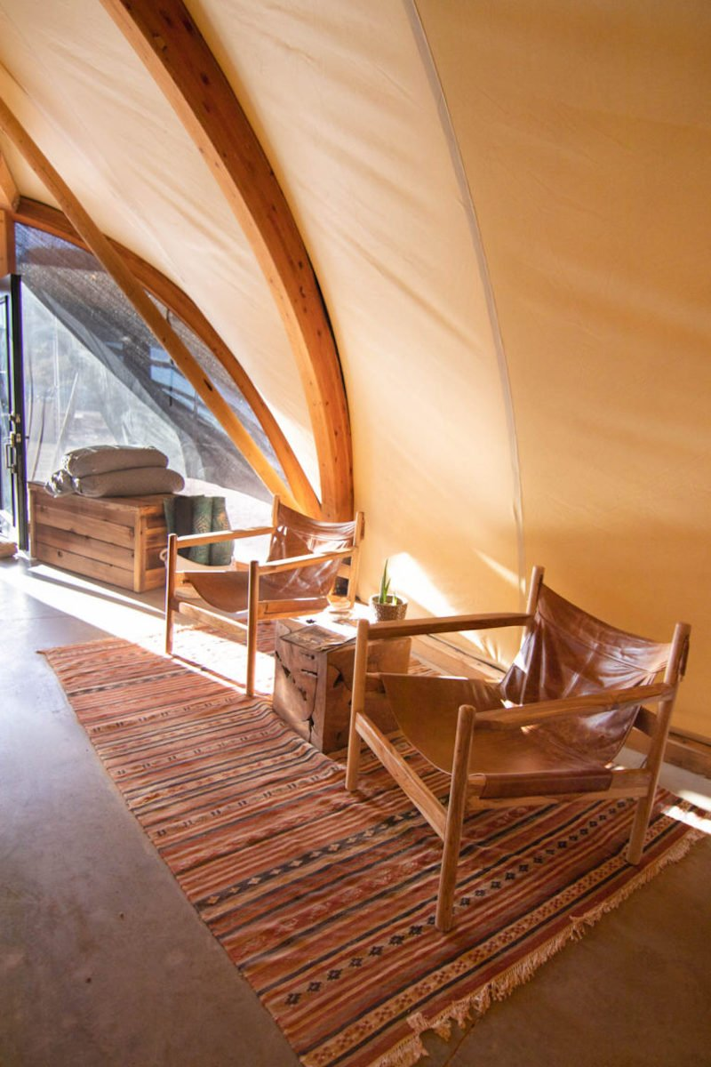 lobby under canvas zion