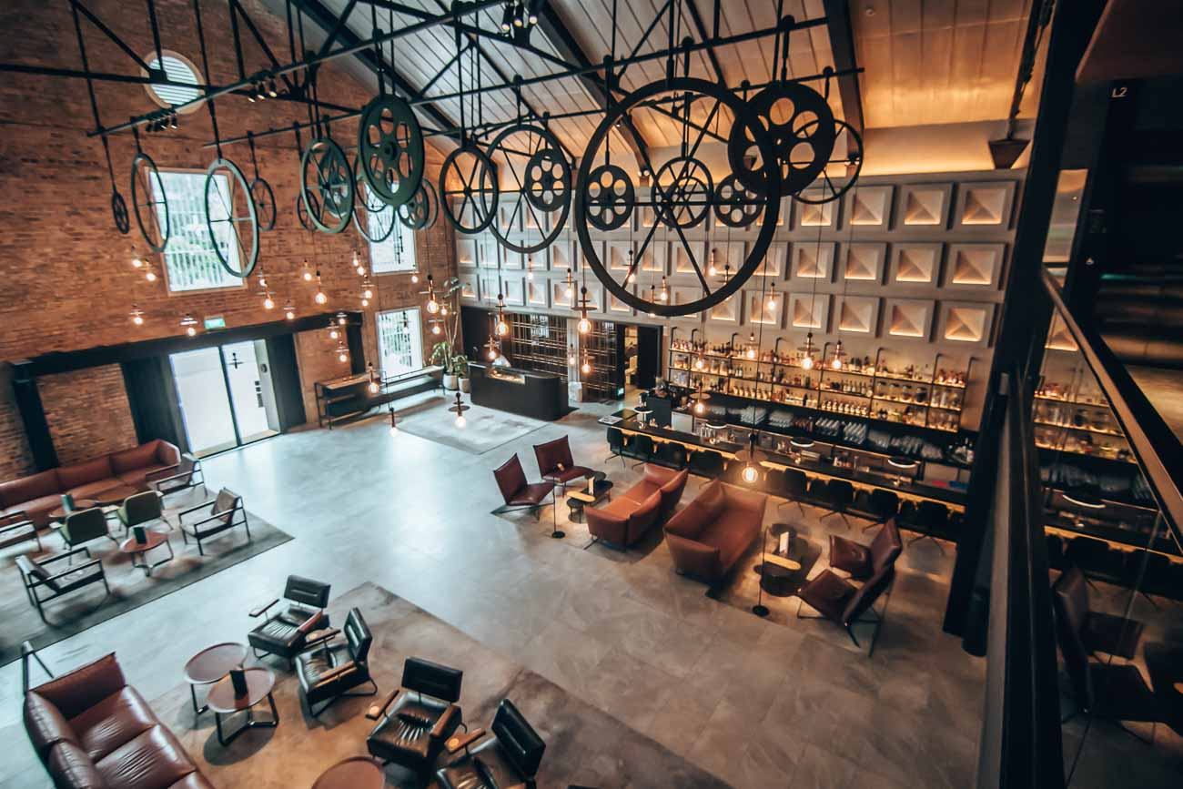 lobby the warehouse singapore