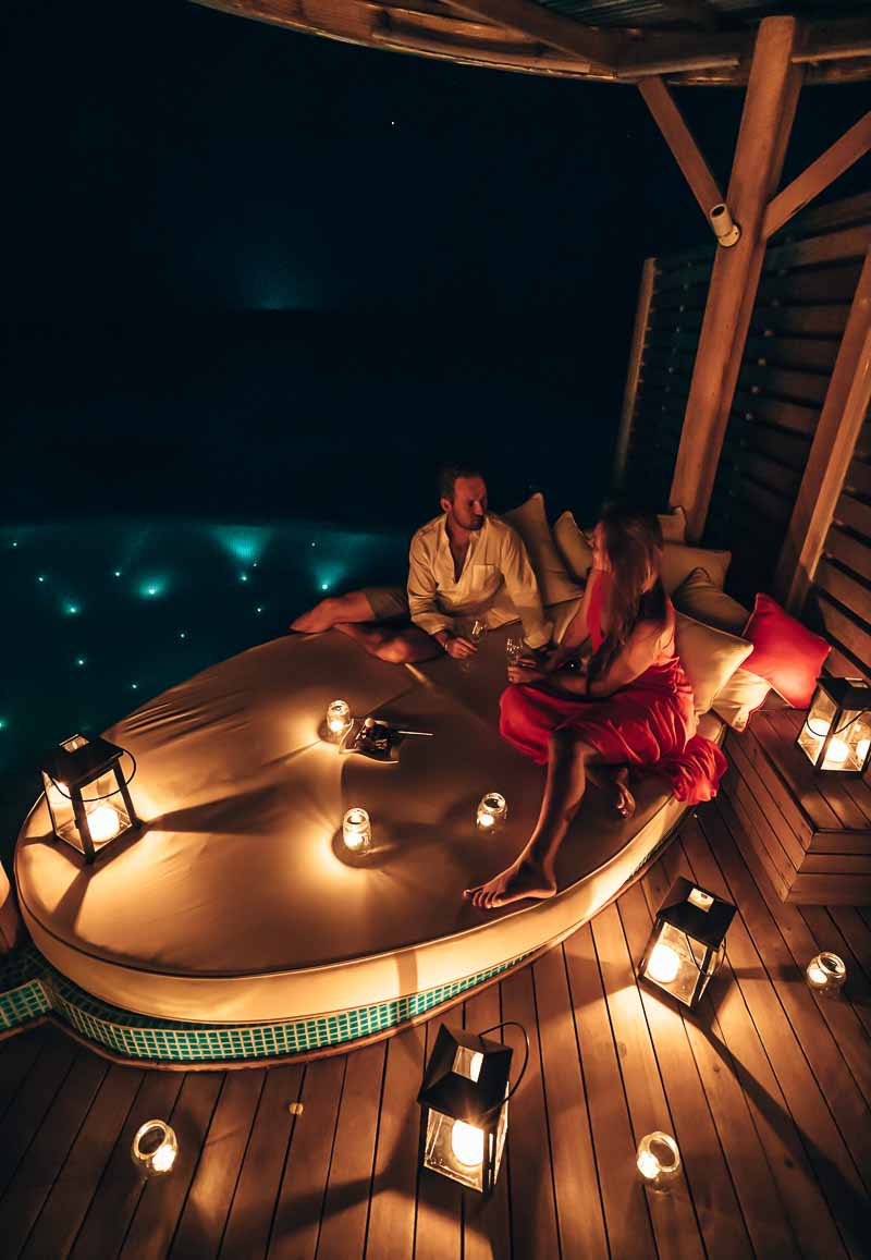private dining milaidhoo maldives