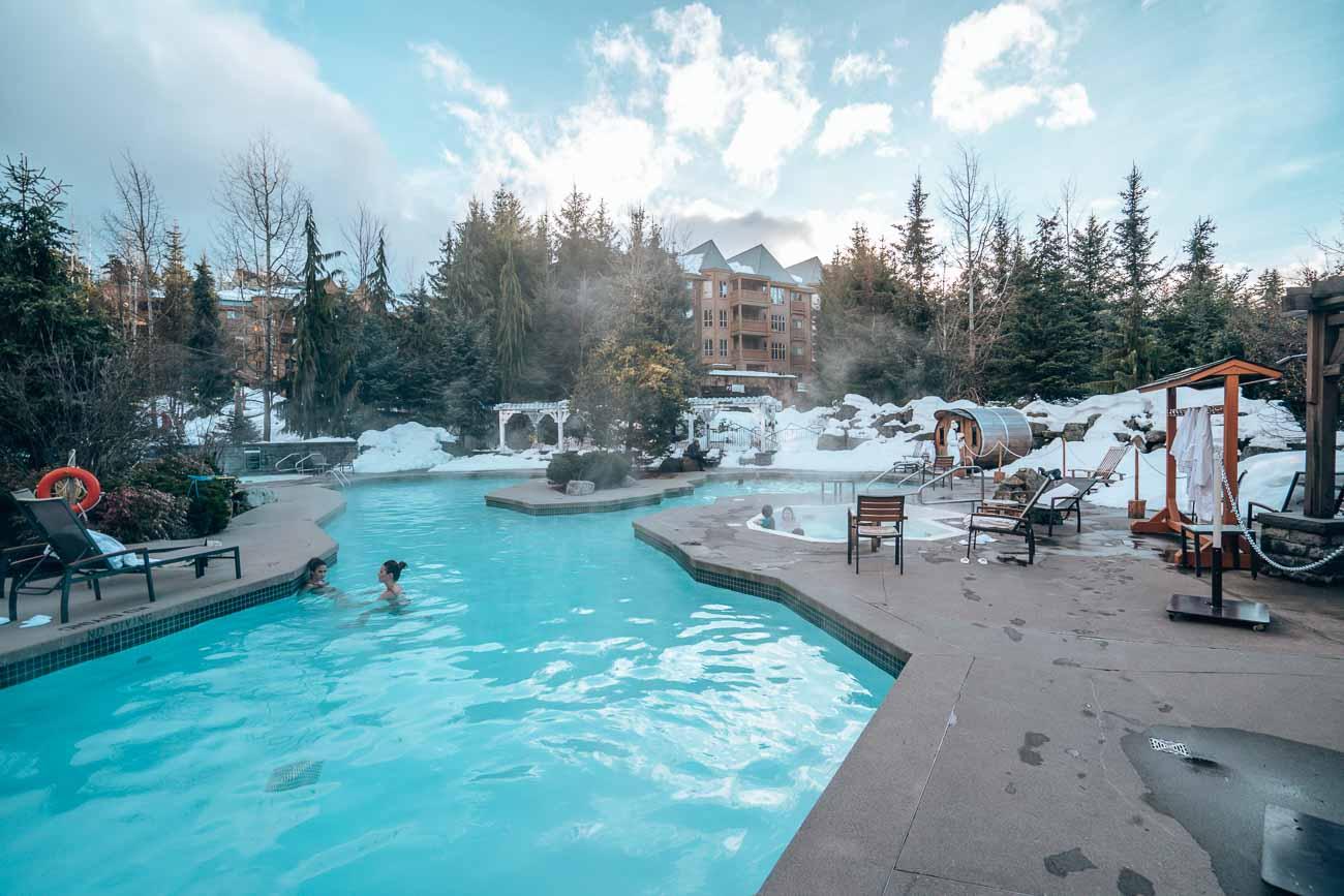 pool four seasons whistler