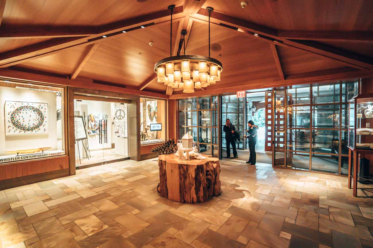 lobby four seasons whistler