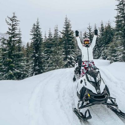 Snowmobiling Whistler