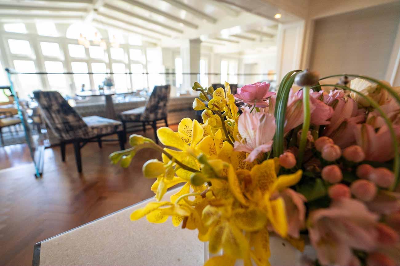 Ritz Carlton Half Moon Bay lobby