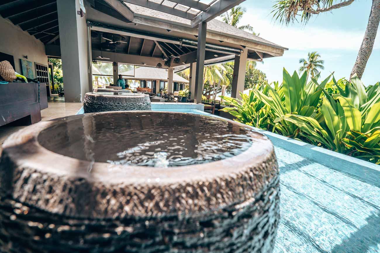 lobby yasawa island resort and spa
