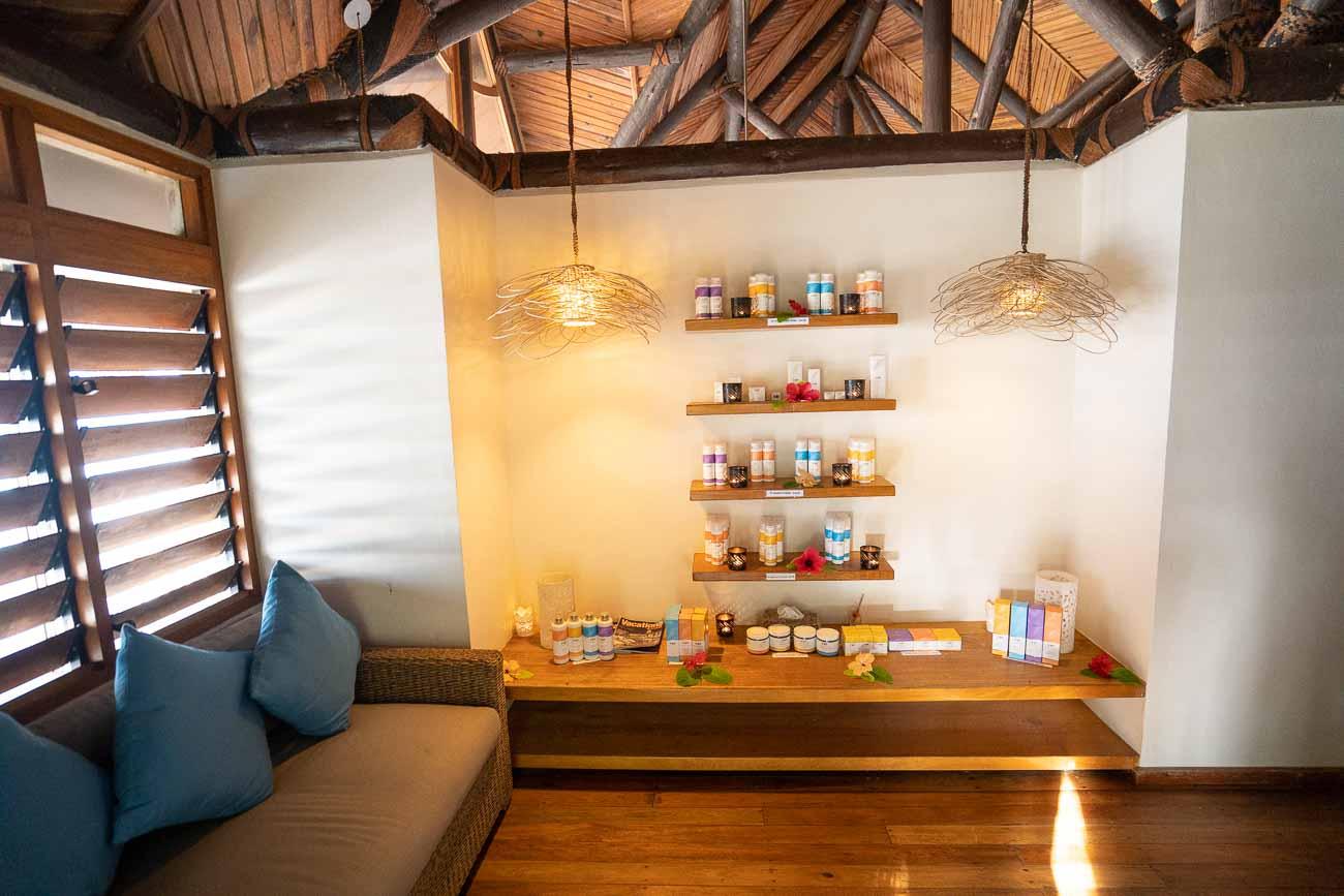 Yasawa Island Resort spa