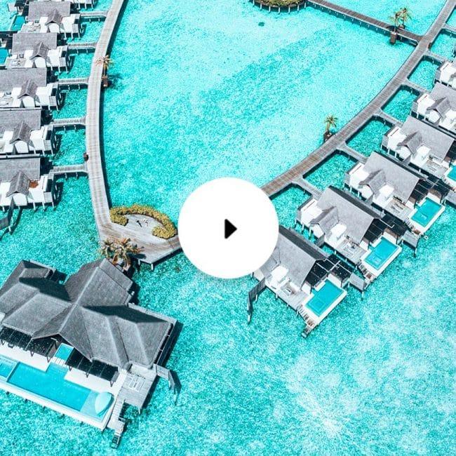 niyama overwater drone