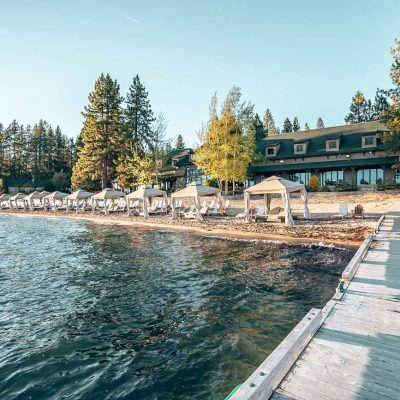 beachfront Hyatt Regency Lake Tahoe