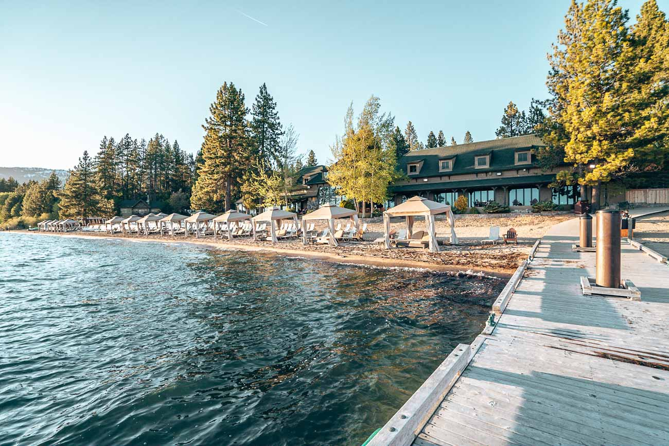 beachfront Hyatt Regency Lake Tahoe