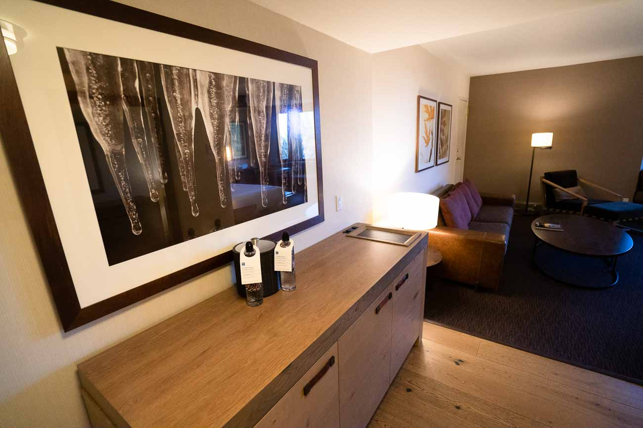 Hyatt Regency Lake Tahoe junior suite