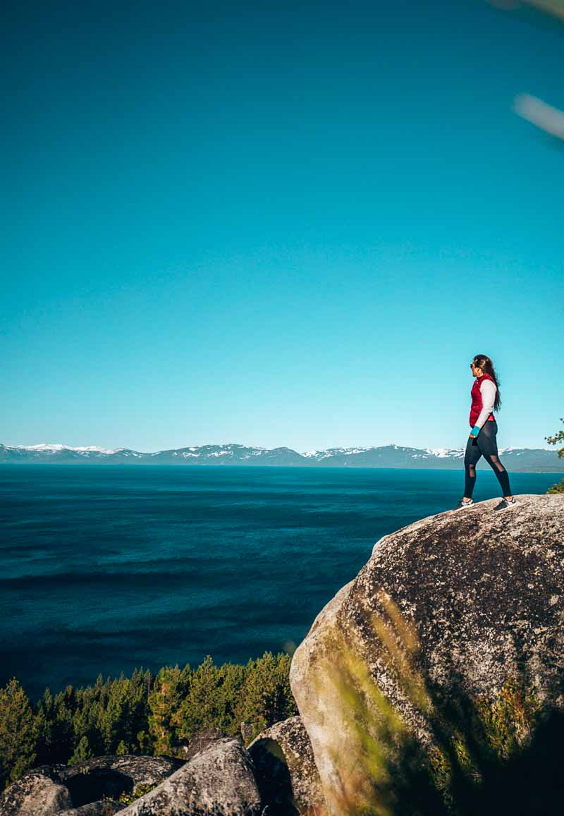 Monkey Rock Lake Tahoe