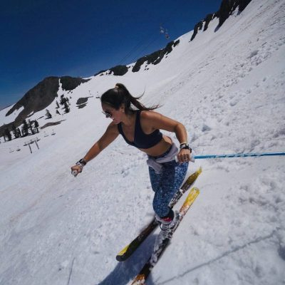 spring skiing squaw