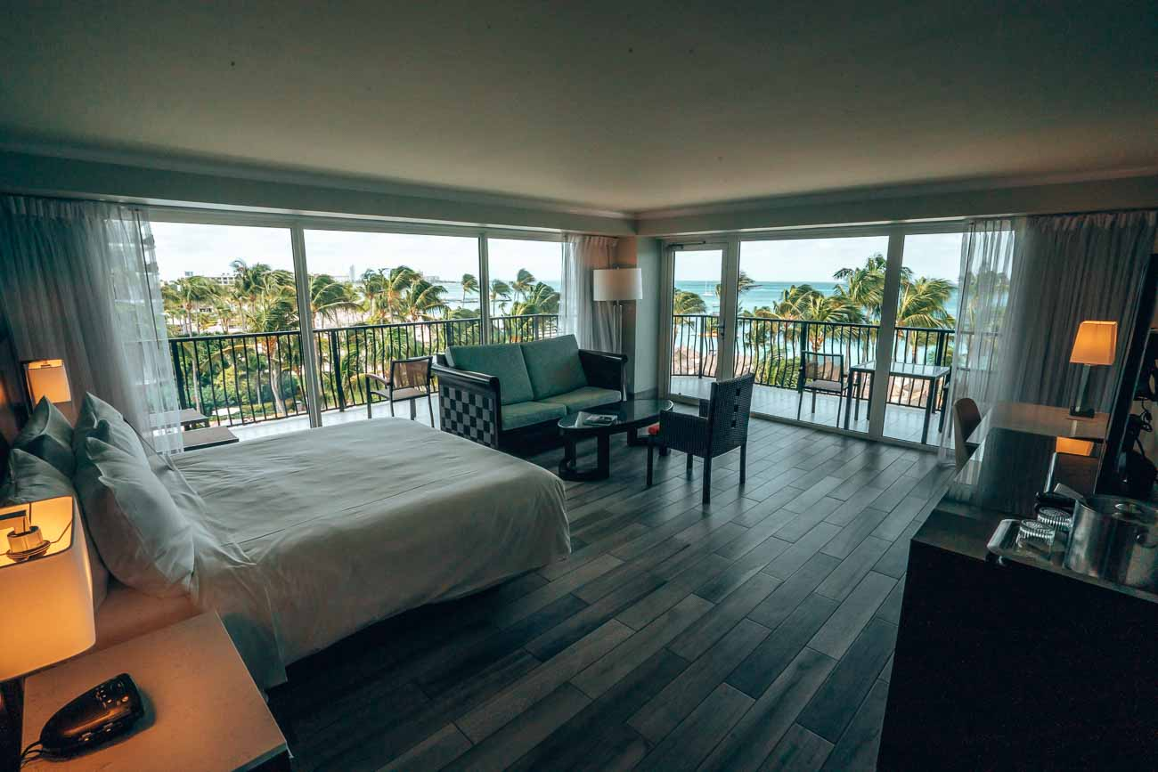 Junior Suite Marriott Stellaris Aruba