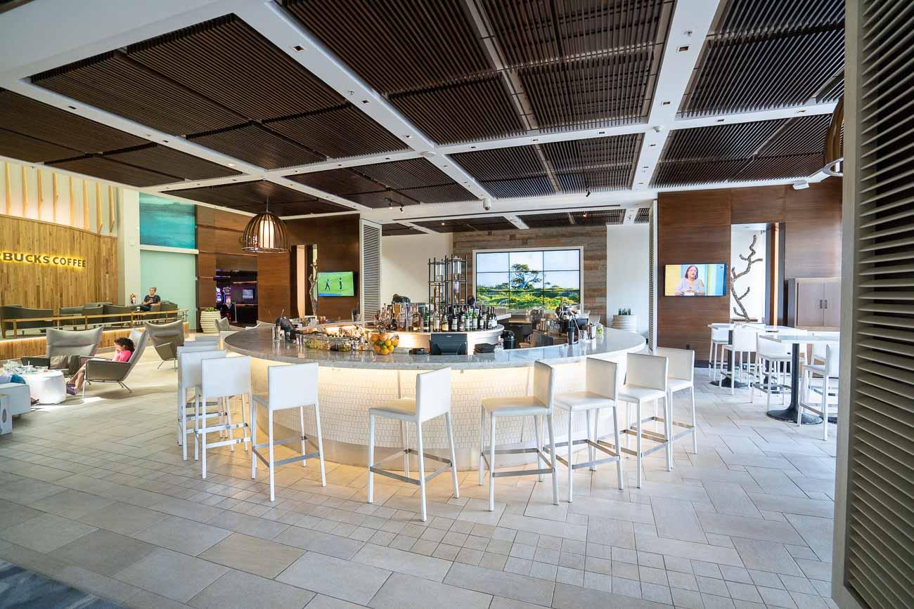 Lobby Bar at Marriott Stellaris Aruba