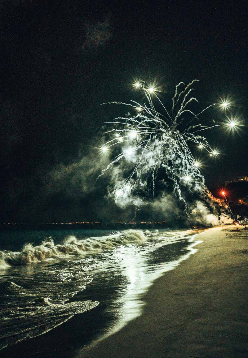 hyatt ziva puerto vallarta fireworks