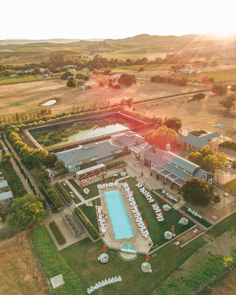 Pool at Carneros Resort