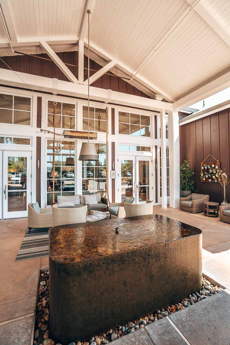 lobby at carneros resort napa