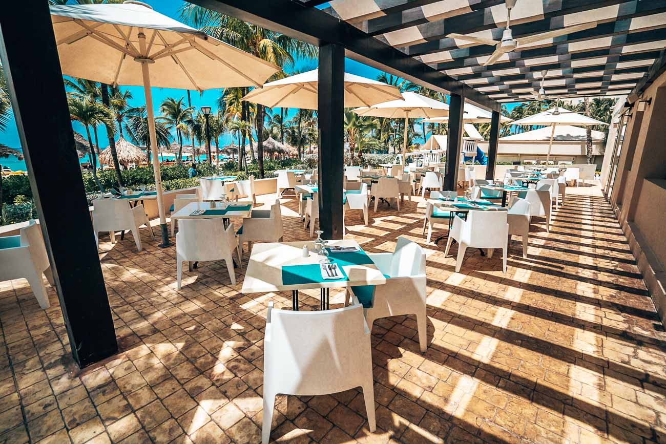 Dining at Barcelo Aruba