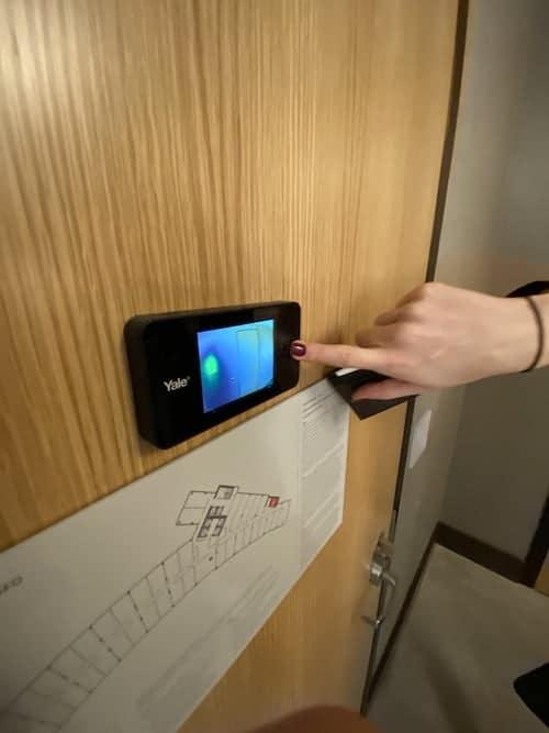 Grand Hyatt SFO door technology