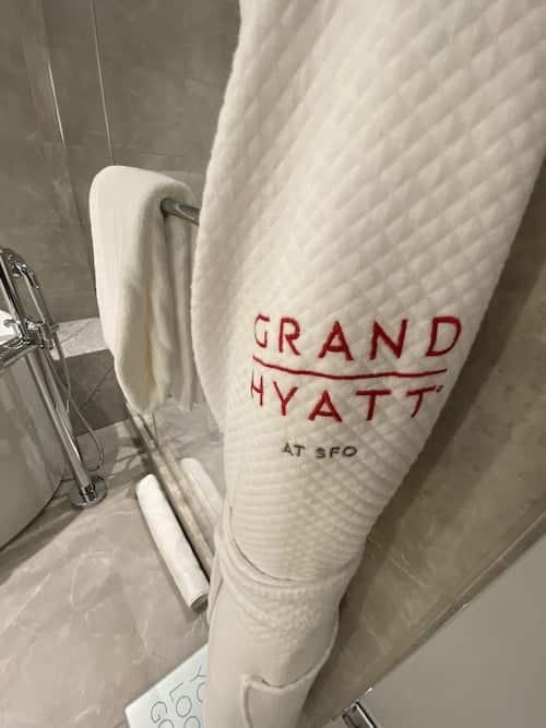 Grand Hyatt SFO grand suite