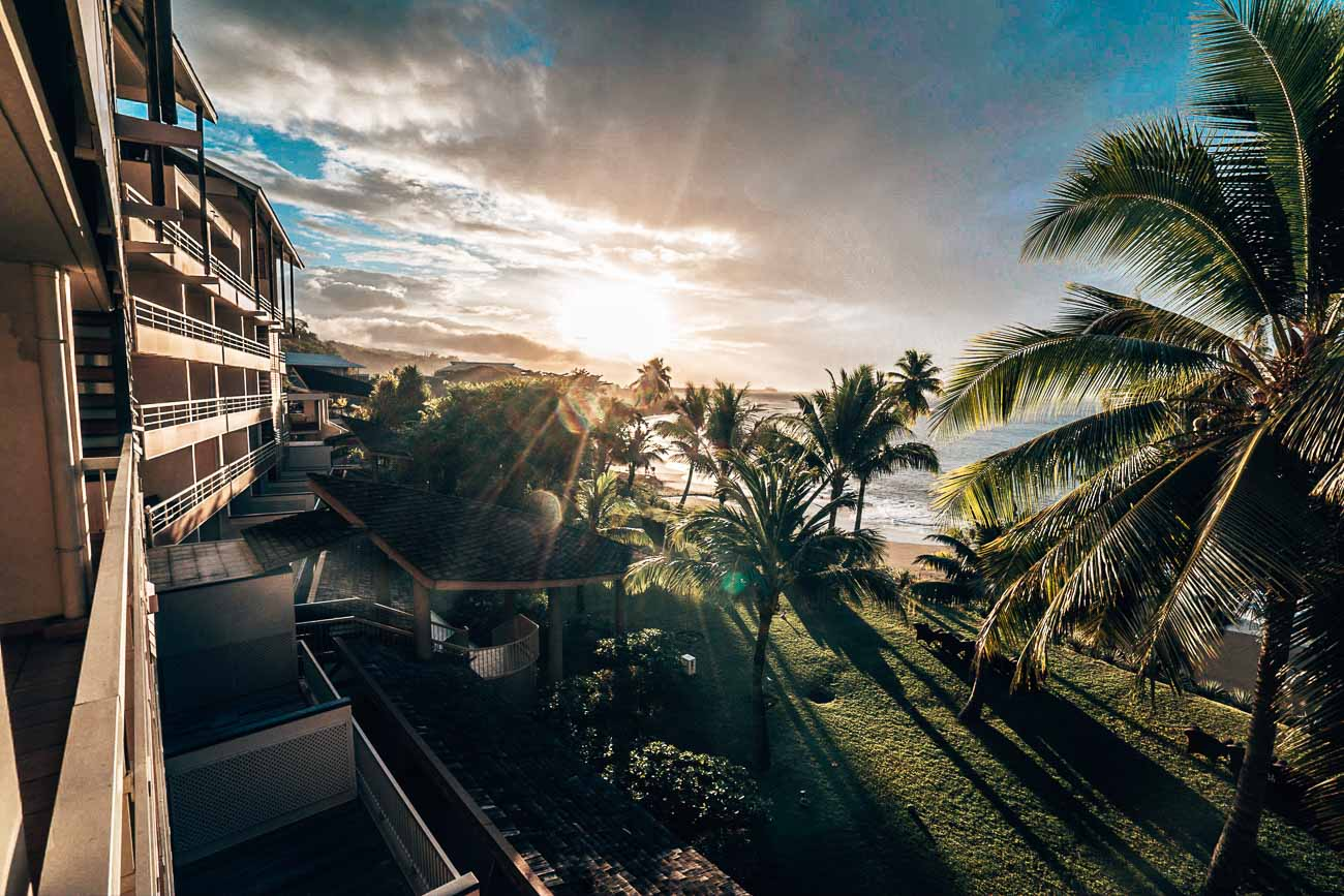oceanfront one bedroom tahiti pearl beach resort