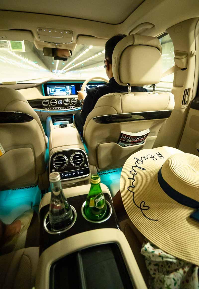 car service at Island Shangri-La