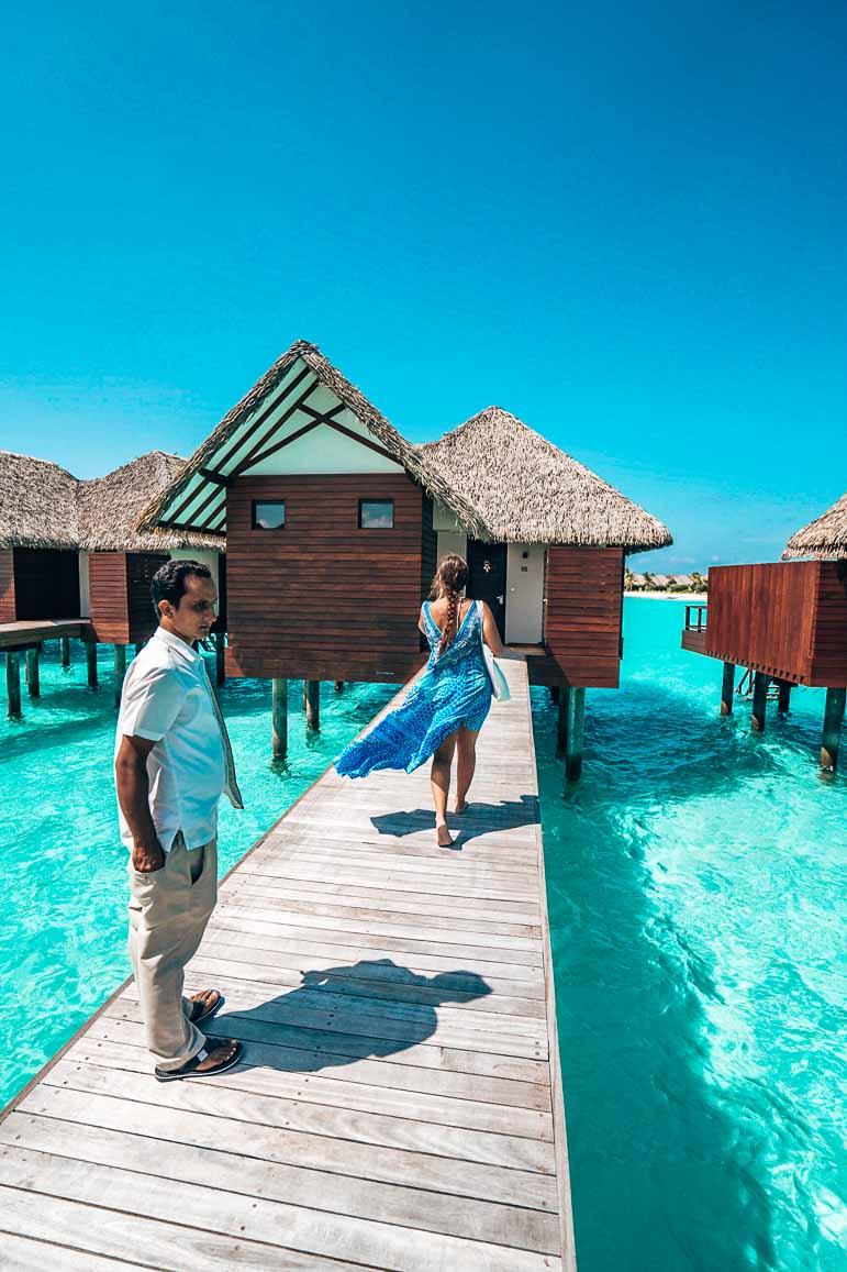 overwater villas at heritance aarah
