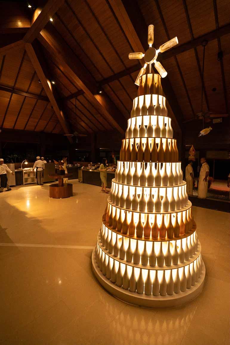 christmas tree at The Residence Maldives