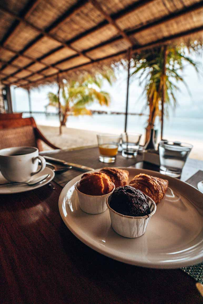 breakfast at The Residence Maldives