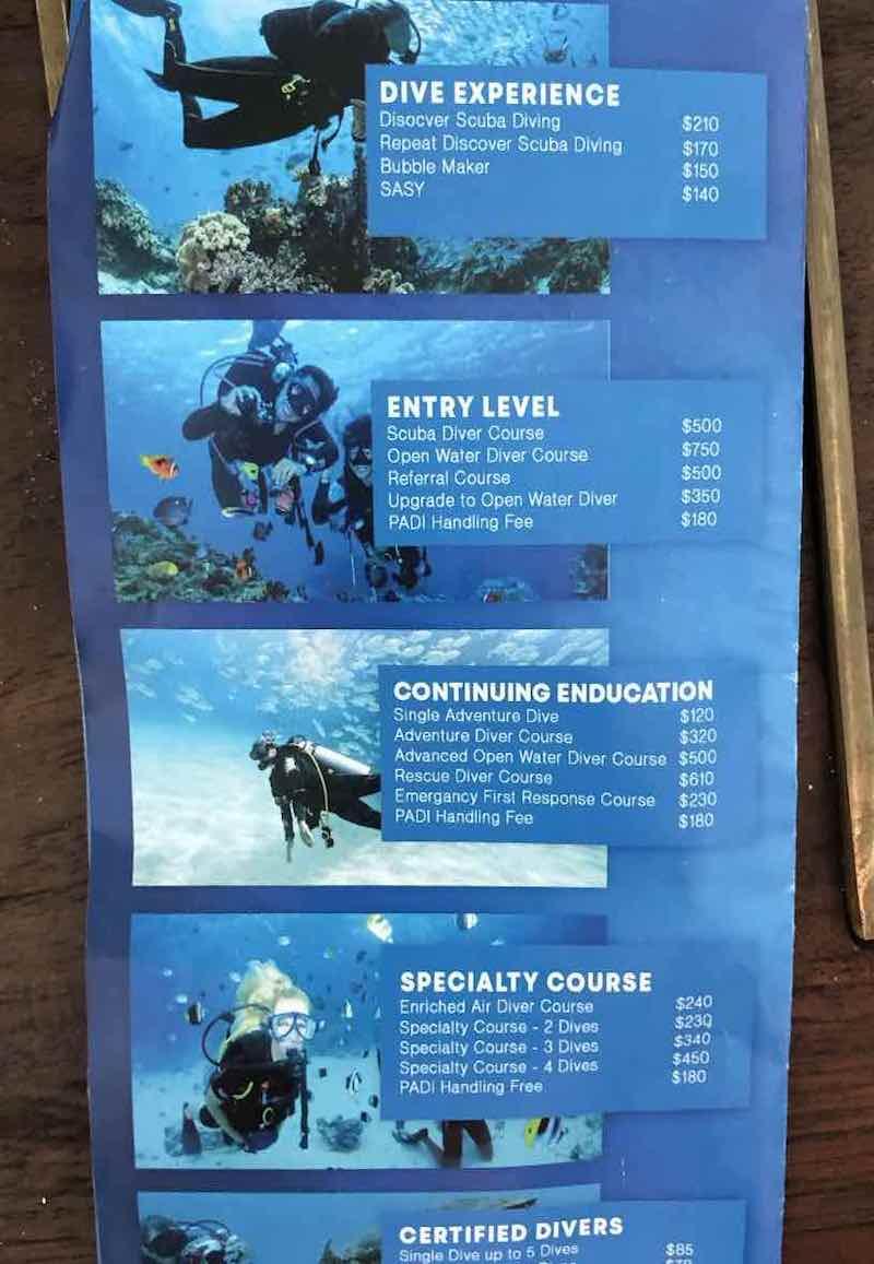 Dive Center Heritance Aarah
