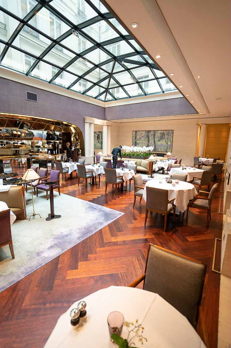 Dining at Park Hyatt Paris