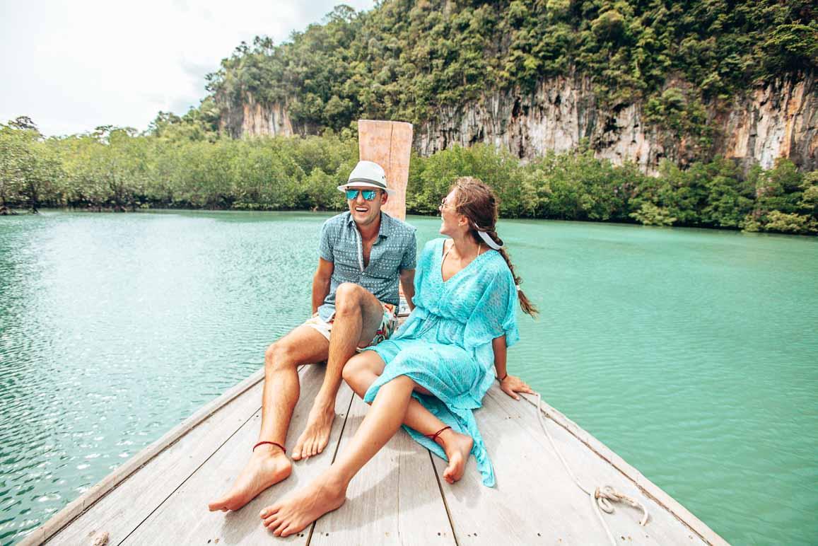 thailand boat trip