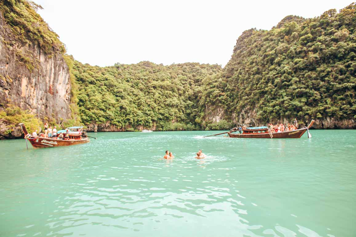 thailand boating