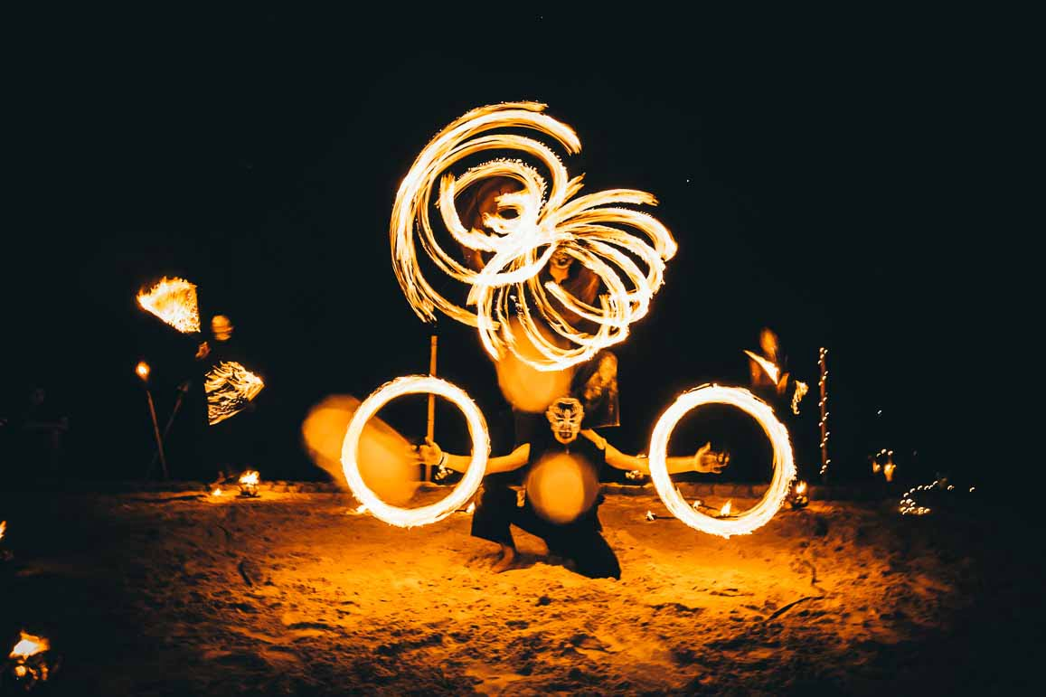 thailand fire show