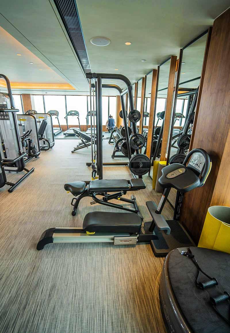Hyatt Centric Hong Kong fitness center