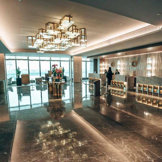 Hyatt Centric Hong Kong lobby