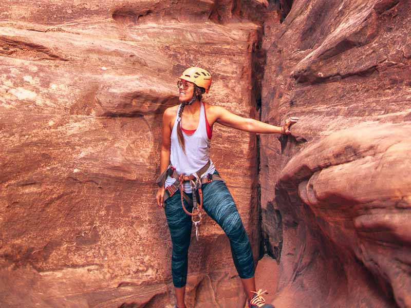 canyoning zion national park