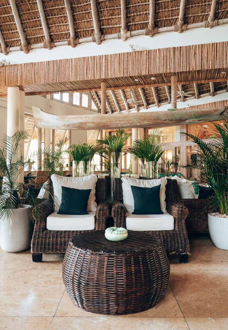 hotel lobby by day