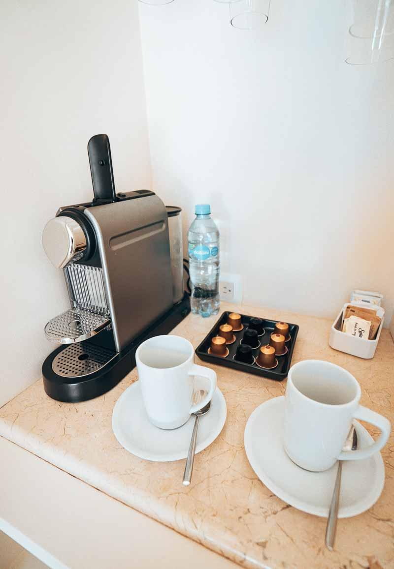 nespresso in minibar
