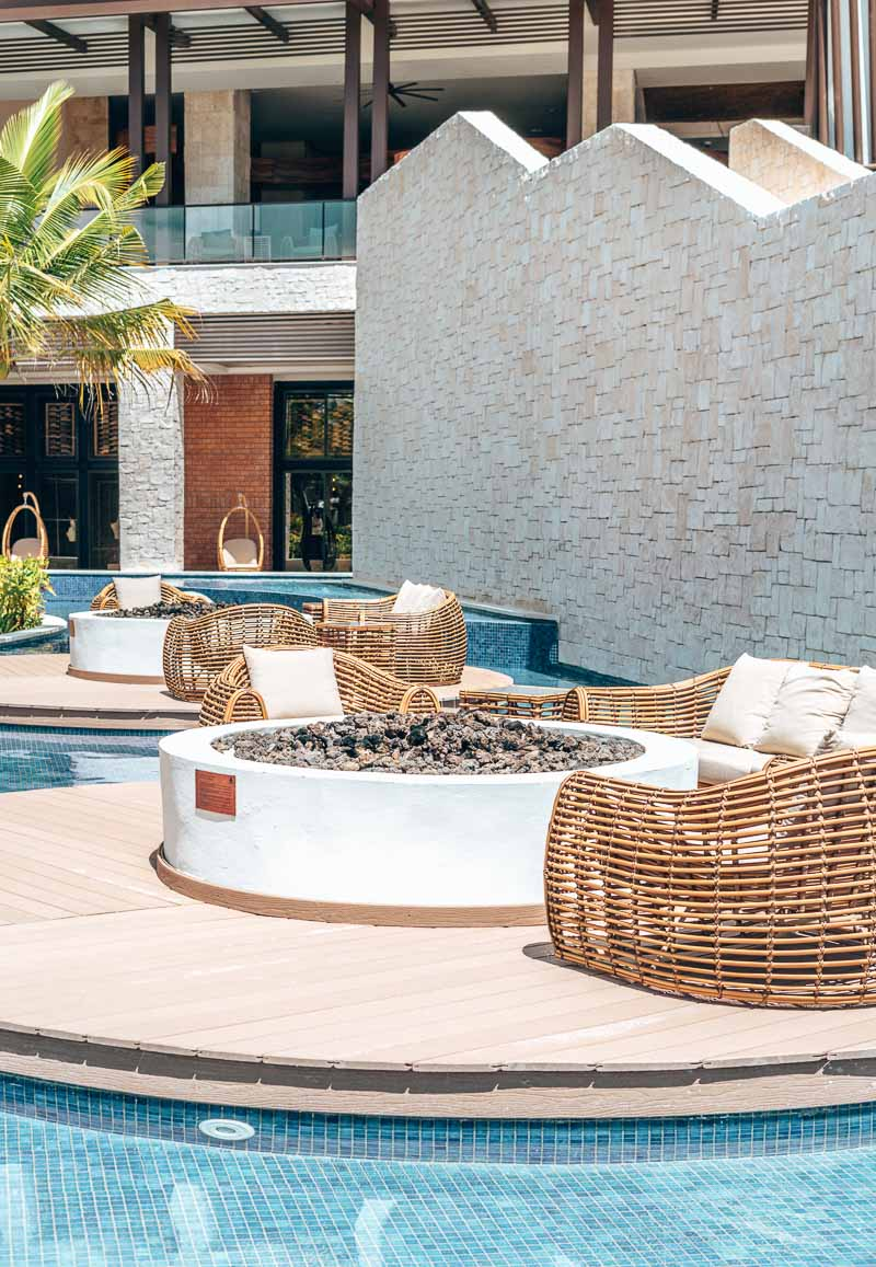 firepits in hotel