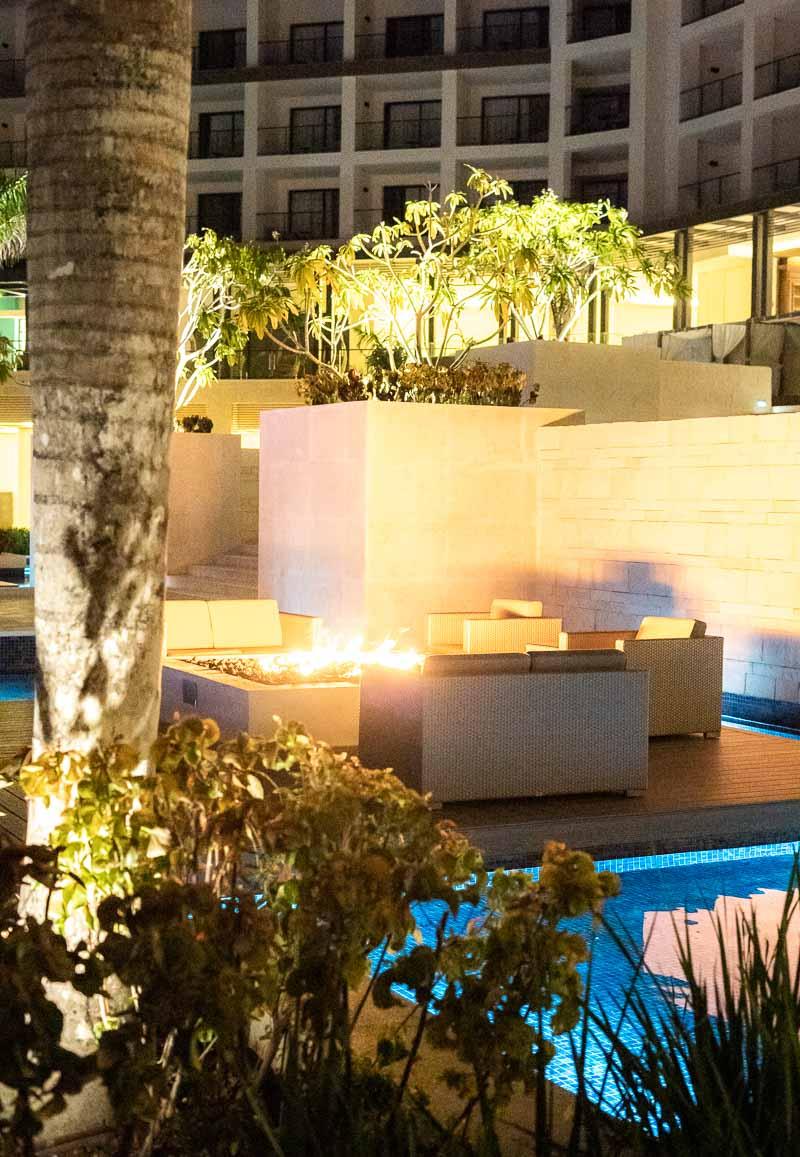 hotel firepit