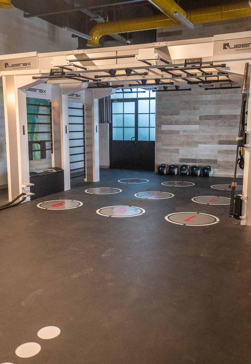 fitness center hotel