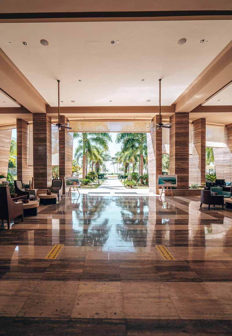 Westin Punta Cana lobby